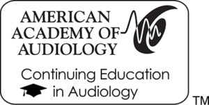Award for Continuing Education in Audiology
